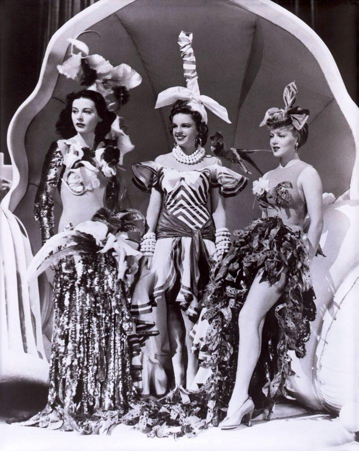 Hedy Lamarr, Judy Garland, and Lana Turner