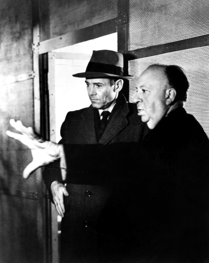 Henry Fonda and Alfred Hitchcock, Behind the Scenes of The Wrong Man