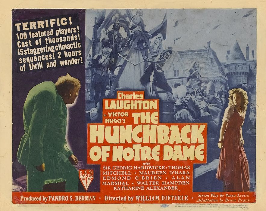 The Hunchback of Notre Dame Lobby Card