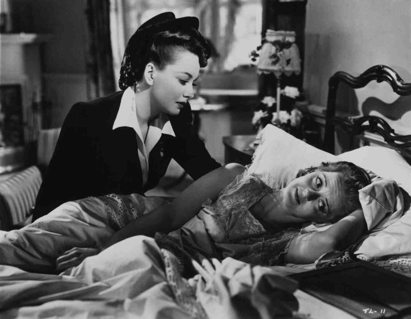 Olivia de Havilland and Bette Davis, In This Our Life