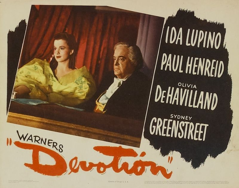 Olivia de Havilland and Sydney Greenstreet