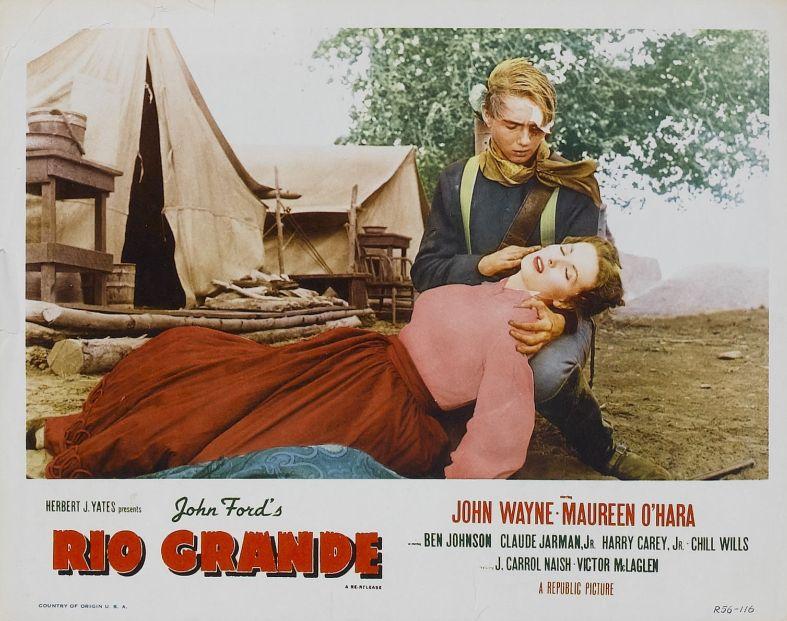 Rio Grande Lobby Card