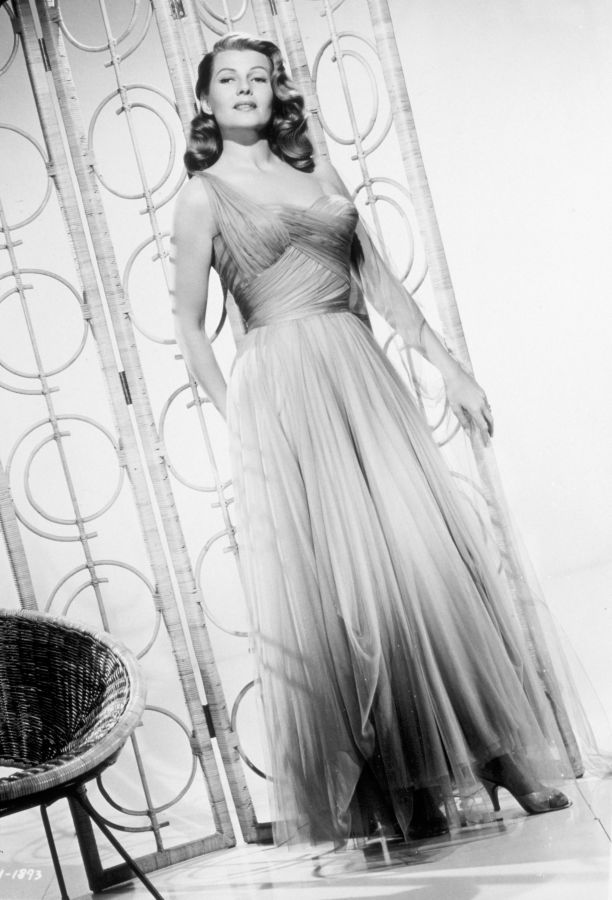 Rita Hayworth, Promotional Picture for Fire Down Below