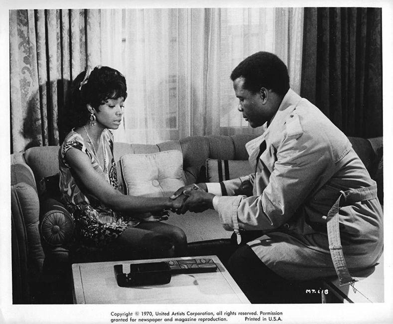 Beverly Todd and Sidney Poitier