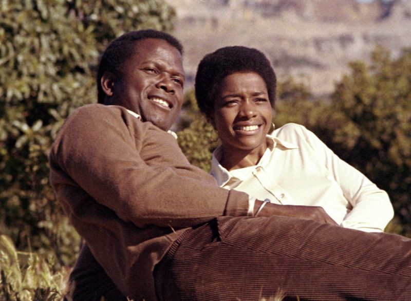Sidney Poitier and Beverly Todd in Brother John