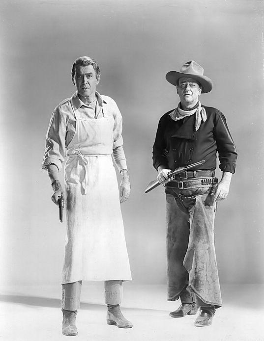 James Stewart and John Wayne: The Man Who Shot Liberty Valance