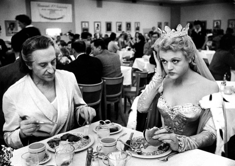 Basil Rathbone and Angela Lansbury, Behind the Scenes of The Court Jester