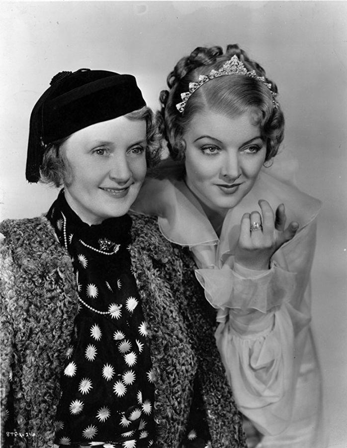 Billie Burke and Myrna Loy, The Great Ziegfeld