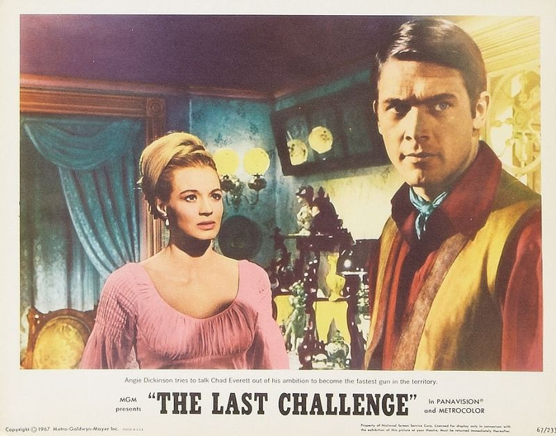 Chad Everett and Angie Dickinson