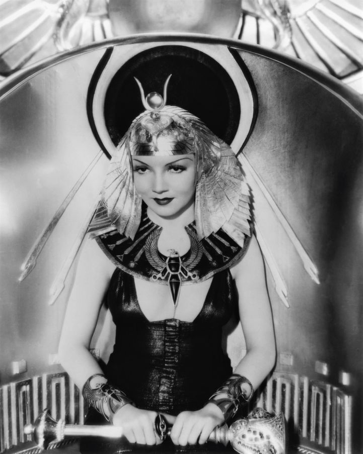 Claudette Colbert, Cleopatra Promotional Picture