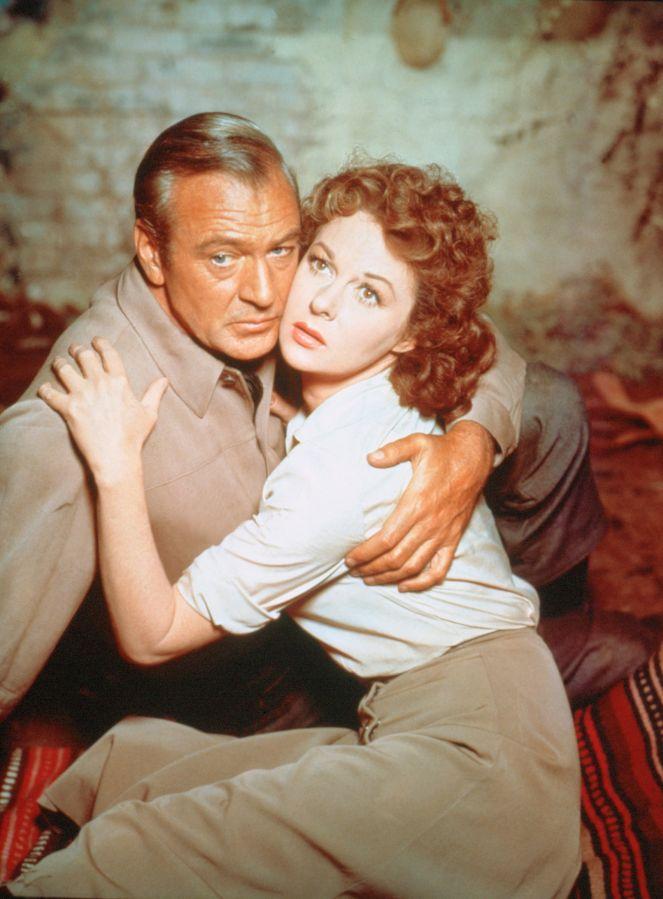 Gary Cooper and Susan Hayward, Garden of Evil