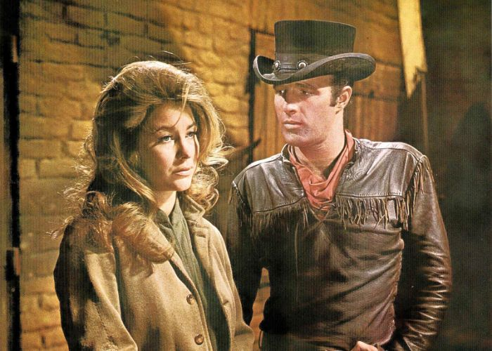 James Caan and Michele Carey