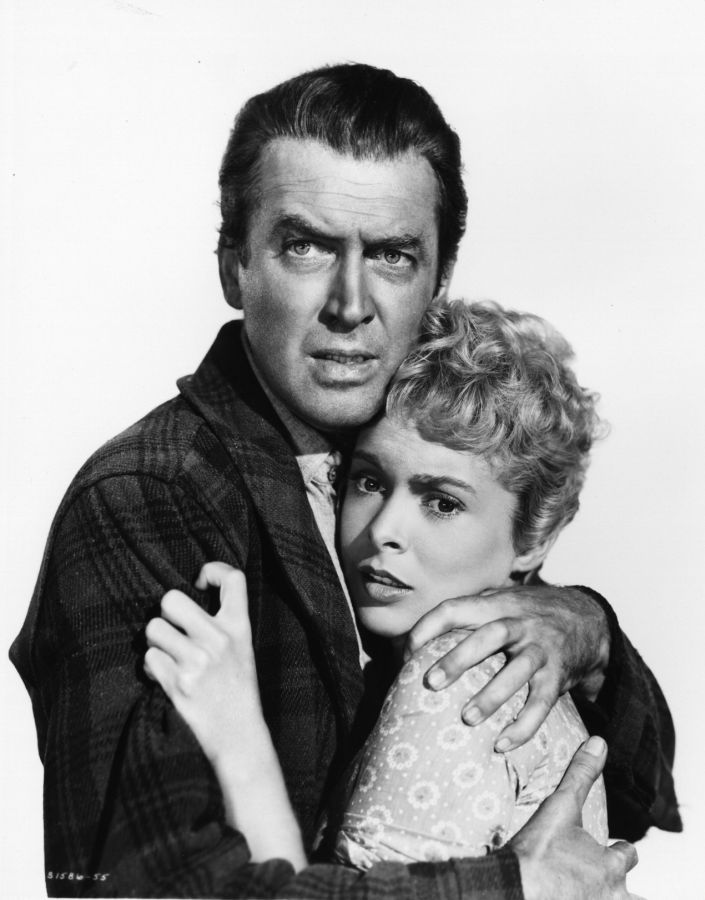 Janet Leigh and James Stewart, The Naked Spur