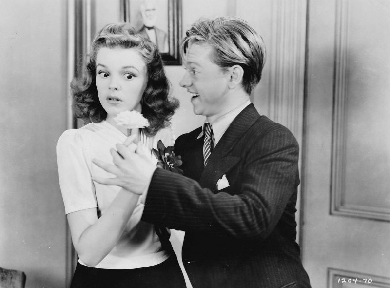 Judy Garland and Mickey Rooney, Babes on Broadway