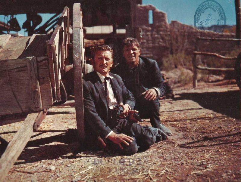Kirk Douglas and Burt Lancaster in Gunfight at the O.K. Corral