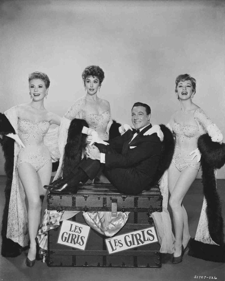 Les Girls: Mitzi Gaynor, Gene Kelly, Kay Kendall, and Taina Elg