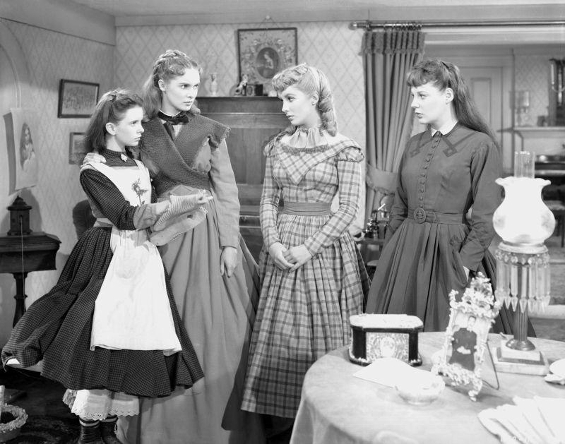 Margaret O'Brien, Janet Leigh, Elizabeth Taylor, and June Allyson