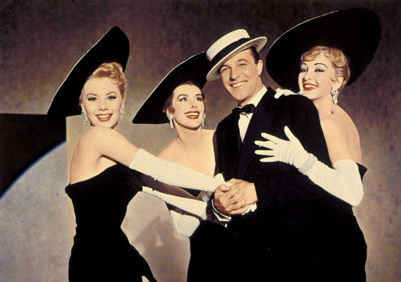 Mitzi Gaynor, Kay Kendall, Gene Kelly, and Taina Elg in Les Girls