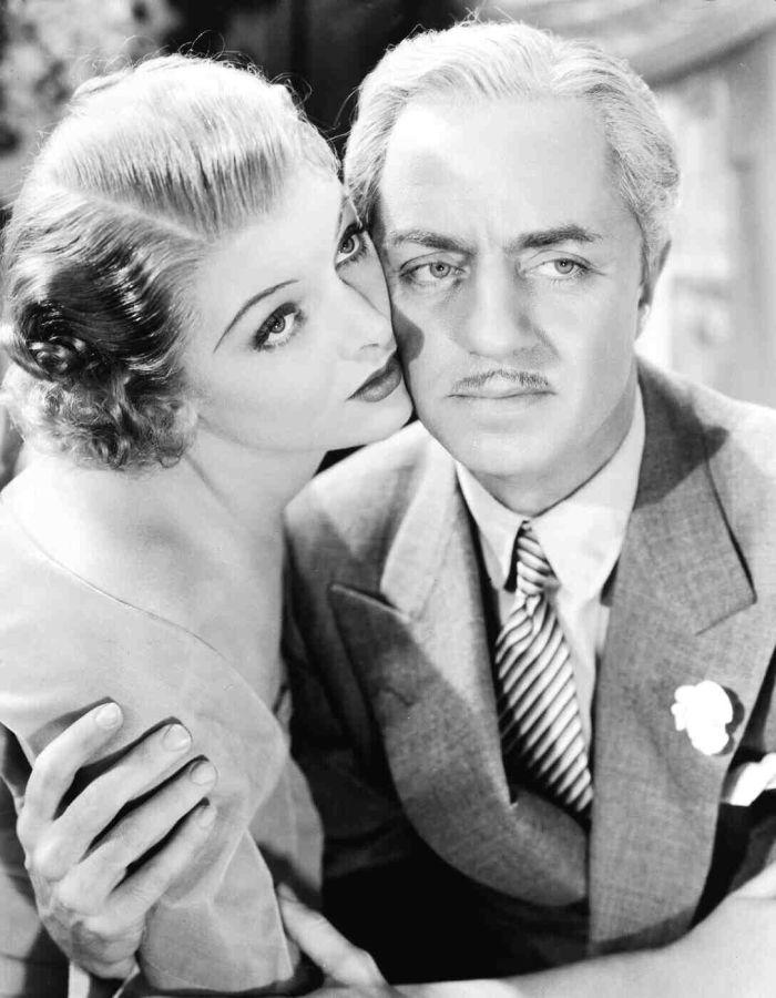 Myrna Loy and William Powell in The Great Ziegfeld