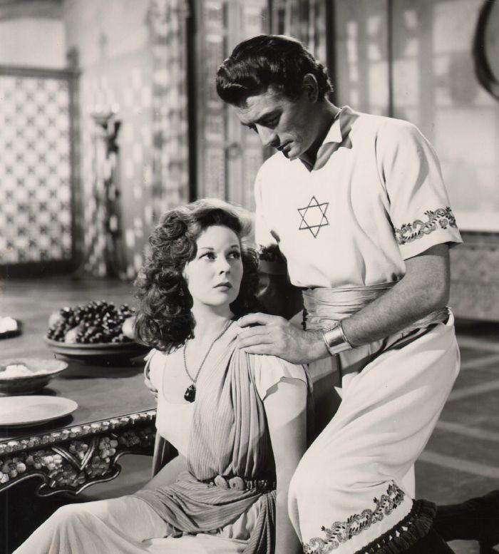 Susan Hayward and Gregory Peck in David and Bathsheba