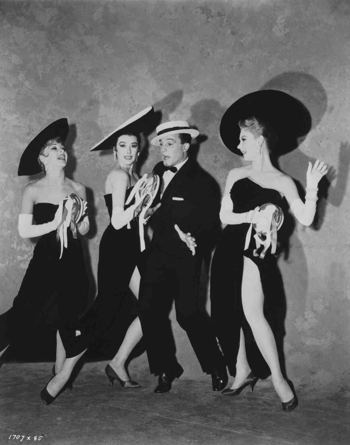 Taina Elg, Mitzi Gaynor, Gene Kelly, and Kay Kendall in Les Girls
