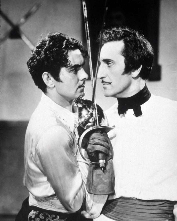 Tyrone Power and Basil Rathbone, The Mark of Zorro