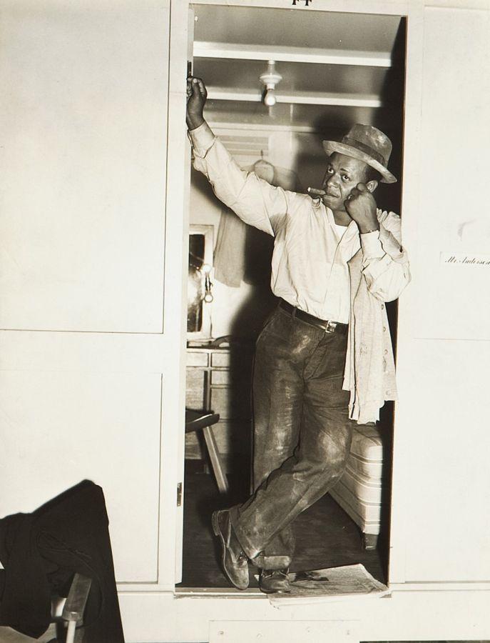 Eddie Anderson, Behind the Scenes of Cabin in the Sky