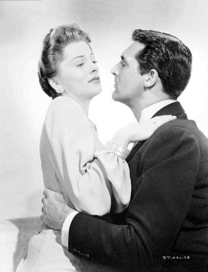 Joan Fontaine and Cary Grant, Suspicion