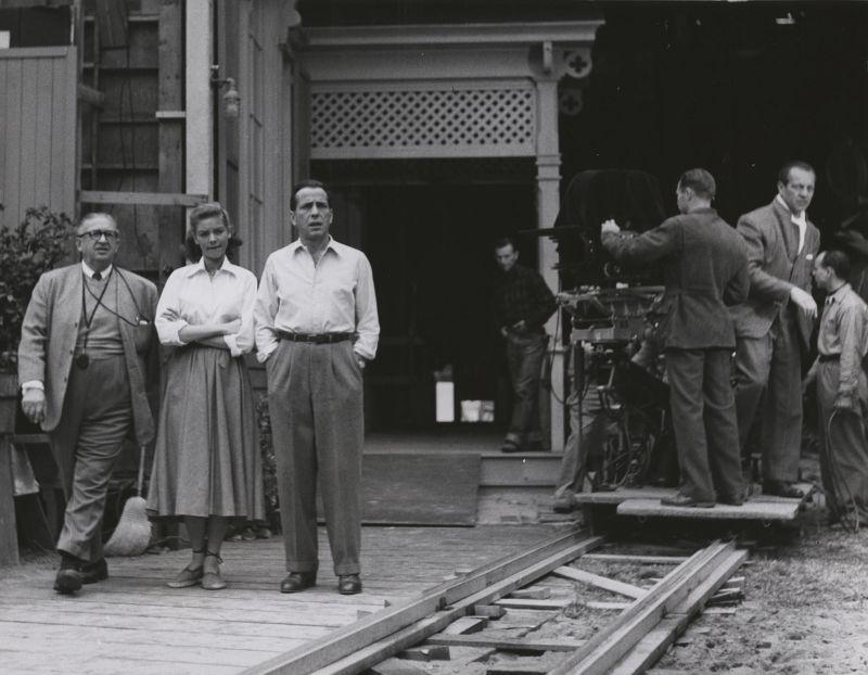 Lauren Bacall and Humphrey Bogart, Behind the Scenes of Key Largo