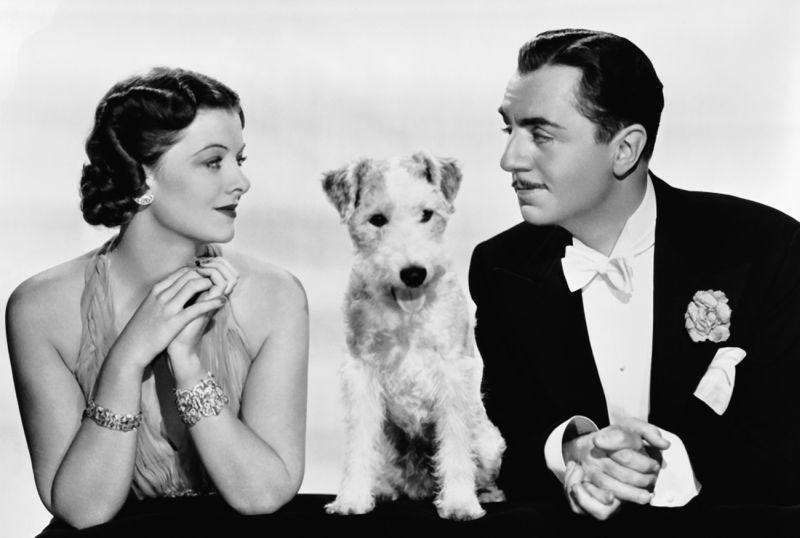 Myrna Loy and William Powell, After The Thin Man