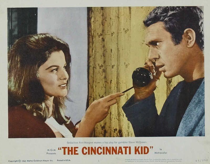 The Cincinnati Kid, Ann-Margret and Steve McQueen