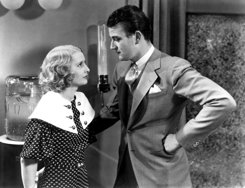 Barbara Stanwyck and John Wayne, Baby Face