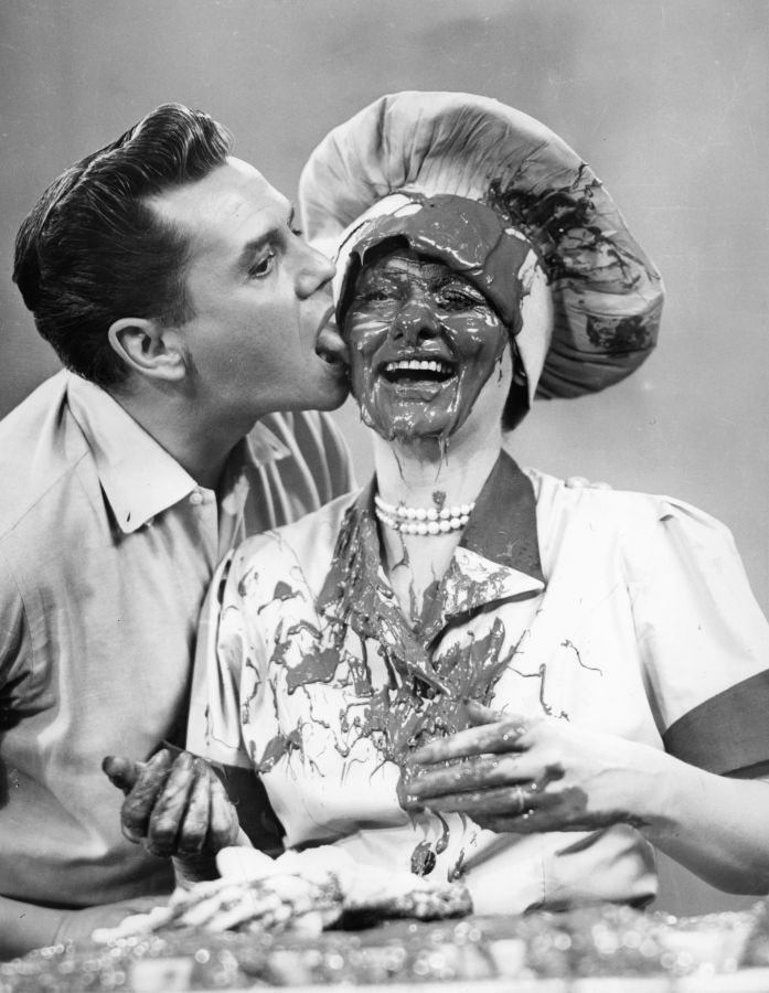 Desi Arnaz and Lucille Ball - Behind the Scenes of I Love Lucy