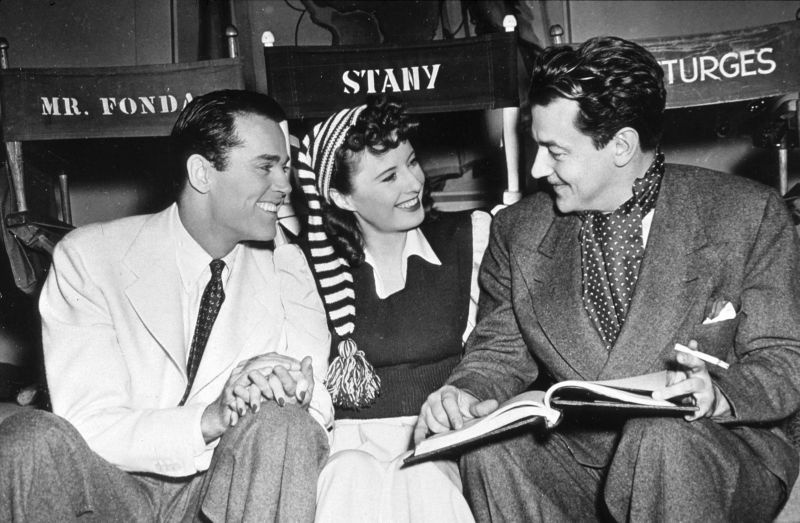 Henry Fonda, Barbara Stanwyck, and Preston Sturges Behind the Scenes of The Lady Eve