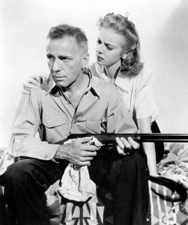 Ida Lupino and Humphrey Bogart, High Sierra