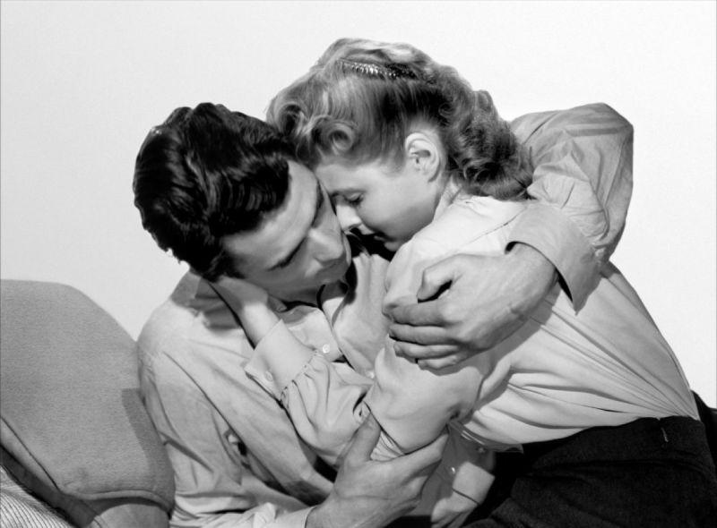 Ingrid Bergman and Gregory Peck, Spellbound