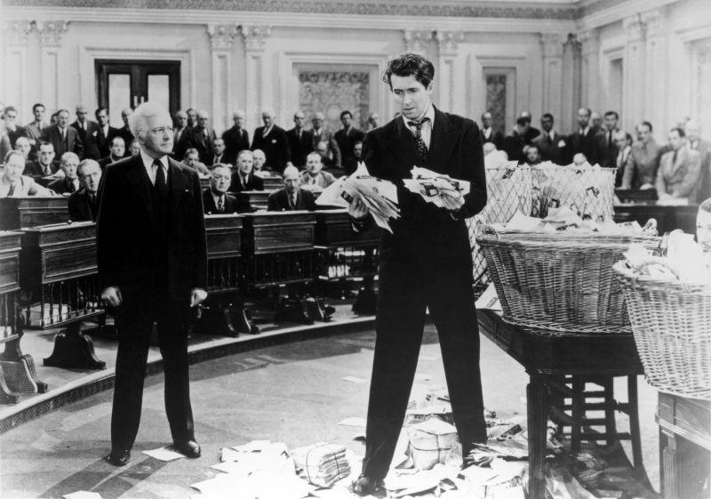 James Stewart and Claude Rains, Mr. Smith Goes to Washington