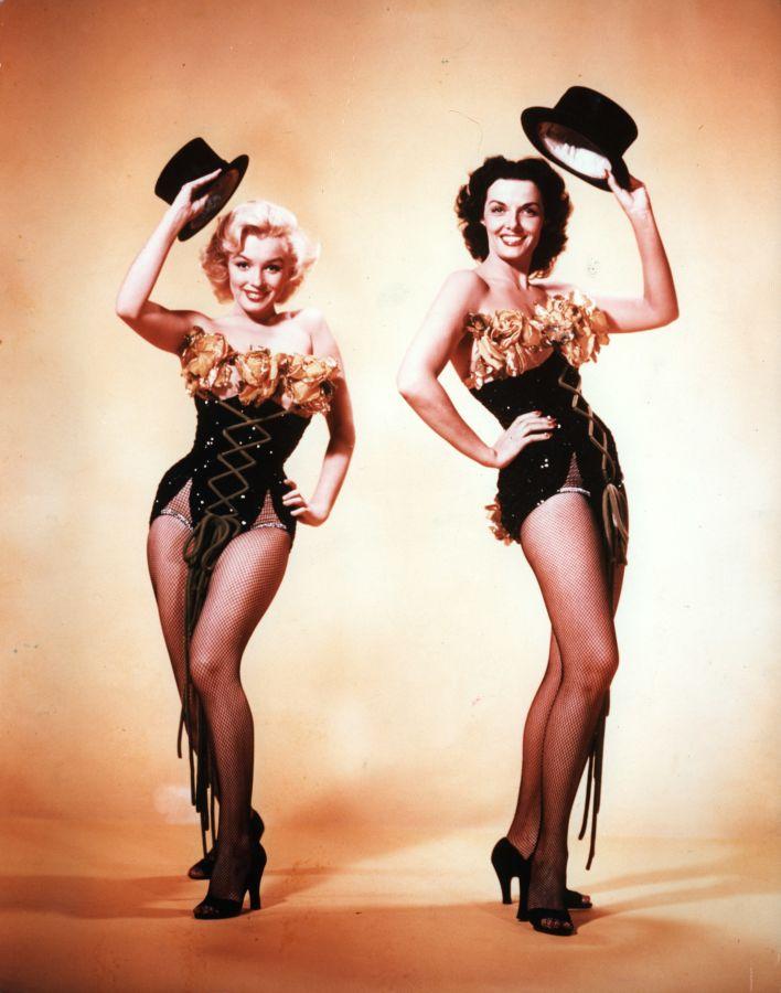 Marilyn Monroe and Jane Russell, Gentlemen Prefer Blondes