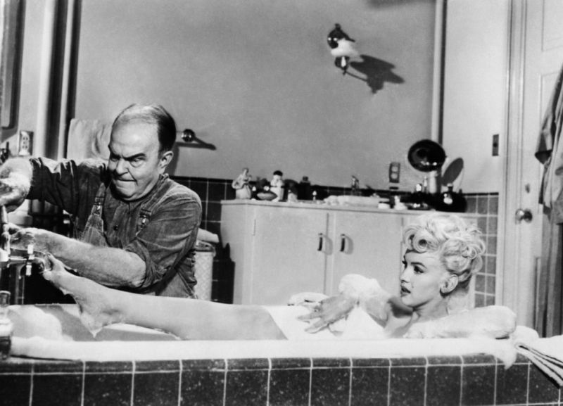 Marilyn Monroe and Victor Moore, The Seven Year Itch