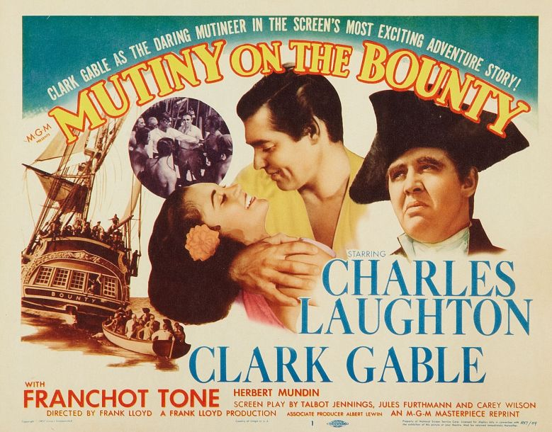 Mutiny on the Bounty: Clark Gable and Charles Laughton