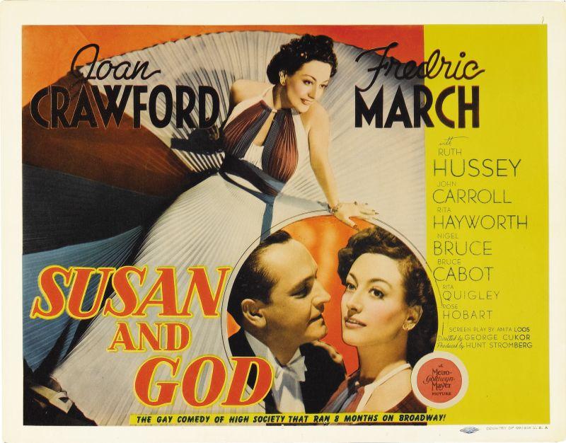 Susan and God Lobby Card