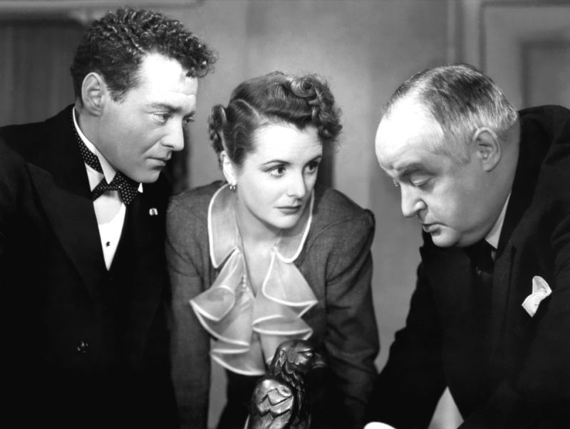 Peter Lorre, Mary Astor, and Sydney Greenstreet: The Maltese Falcon