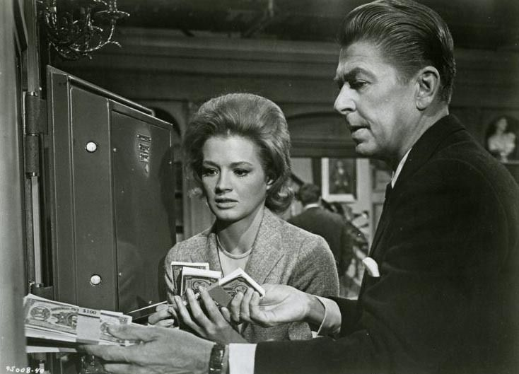 Angie Dickinson and Ronald Reagan, The Killers