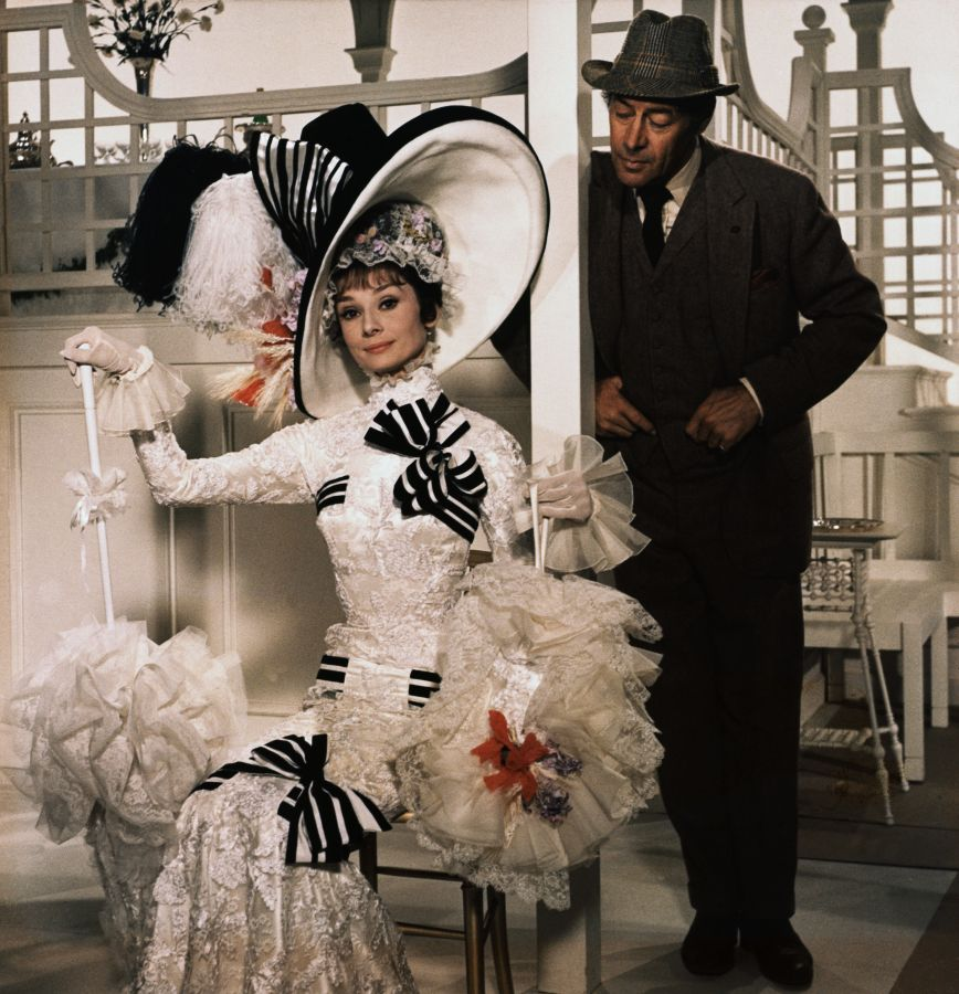 Audrey Hepburn and Rex Harrison, My Fair Lady