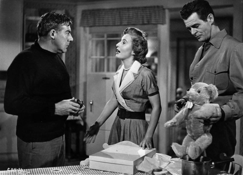 Paul Douglas, Barbara Stanwyck,  and Robert Ryan in Clash by Night