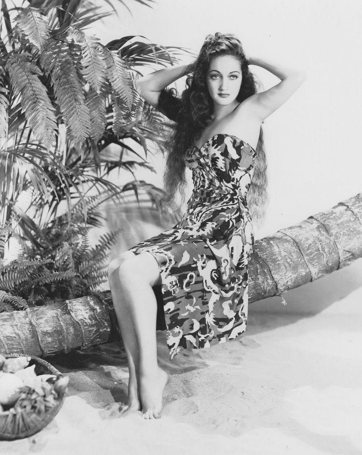 Dorothy Lamour in Typhoon
