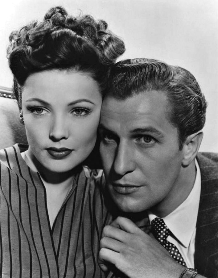 Gene Tierney and Vincent Price, Laura