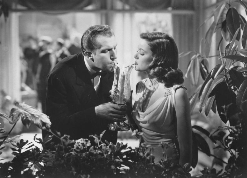 Gene Tierney and Vincent Price in Laura