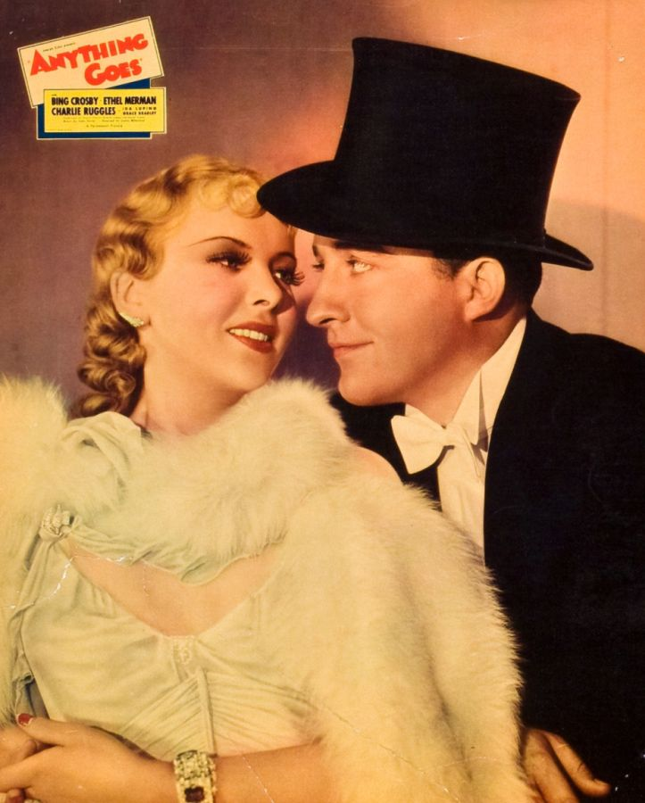 Ida Lupino and Bing Crosby in Anything Goes