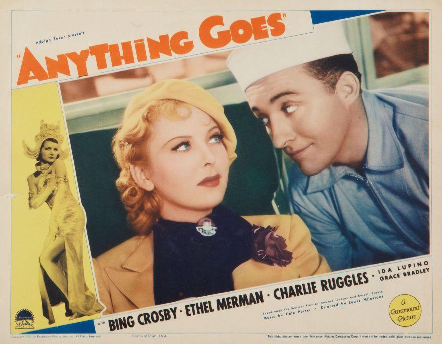 Ida Lupino and Bing Crosby, Anything Goes